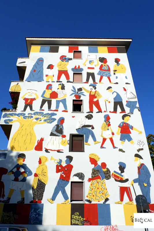 luogo comune murales San Lorenzo
