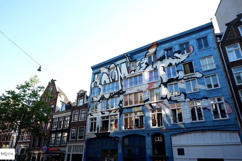 BOOM mural Amsterdam street art