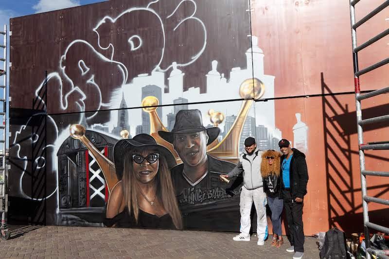 BLADE and Soy at Kings Spray graffiti festival Amsterdam