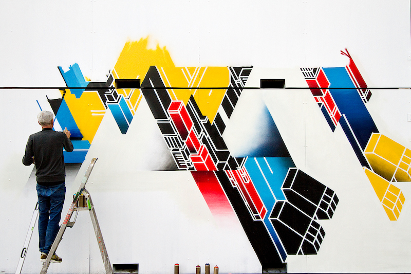 ZEDZ at Kings Spray graffiti festival Amsterdam
