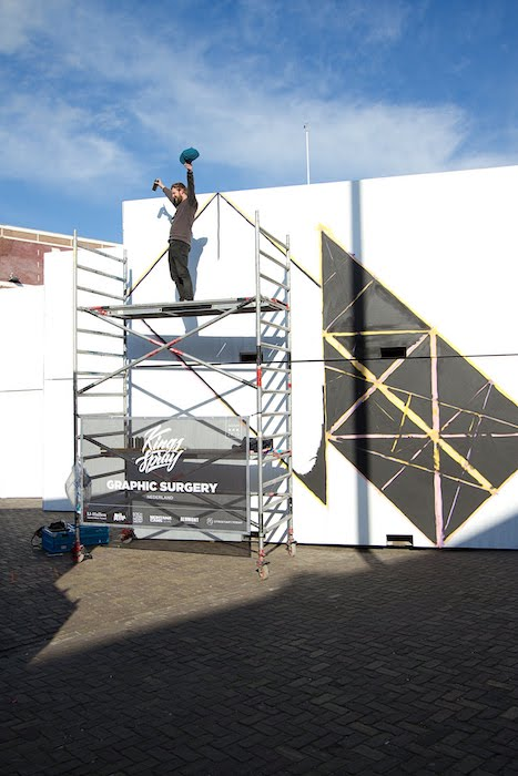 Graphic Surgery Kings Spray graffiti NDSM Amsterdam