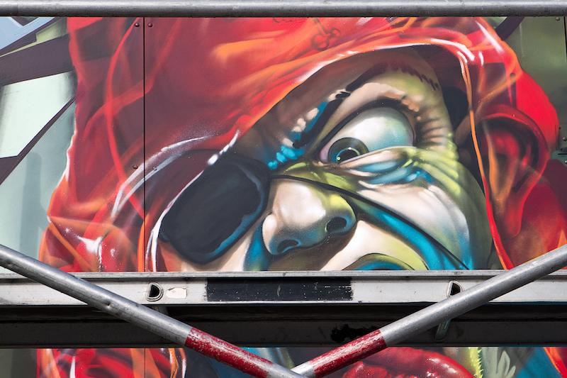 Loveletters Crew at Kings Spray graffiti festival Amsterdam