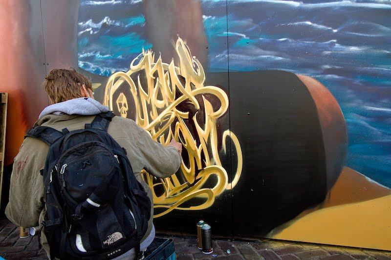 Balstroem Kings Spray graffiti NDSM Amsterdam