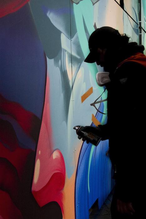 Treze forever Malakkai Karski and Beyond Kings Spray graffiti NDSM Amsterdam