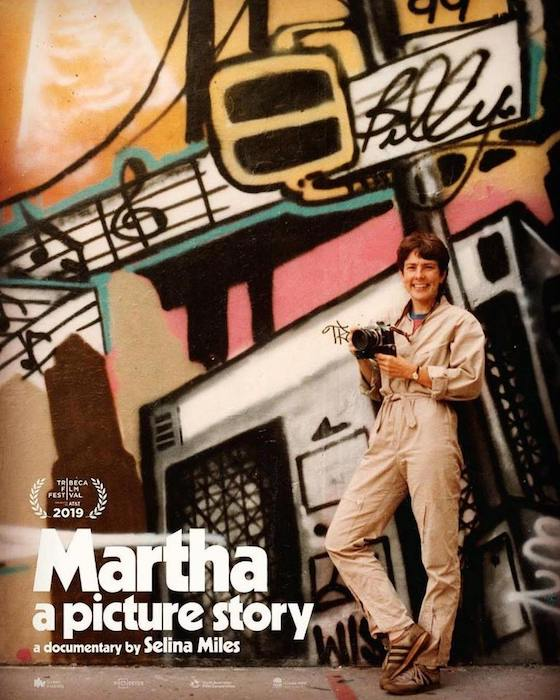Martha Cooper movie A Picture Story by Selina Miles