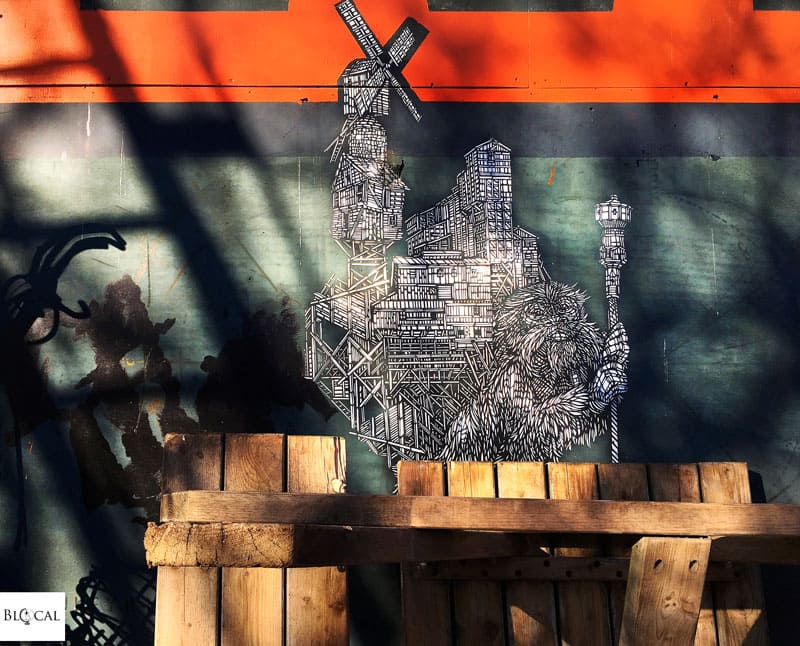 Monkeybird NDSM Amsterdam street art