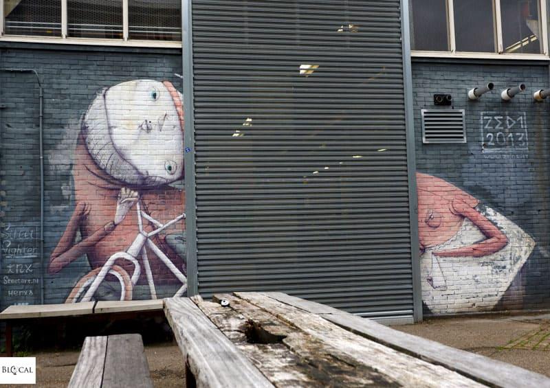 Zed1 street art in Amsterdam