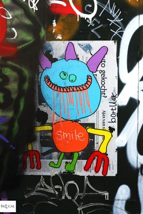 Bortusk Leer poster street art Amsterdam