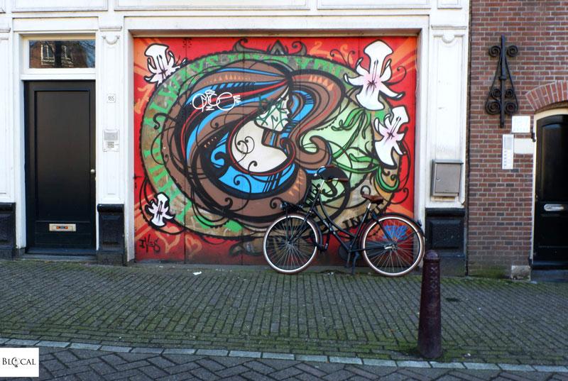 Inkie graffiti in Amsterdam