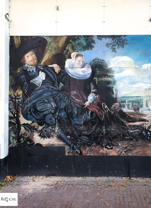 Telmo Miel Mural in Amsterdam