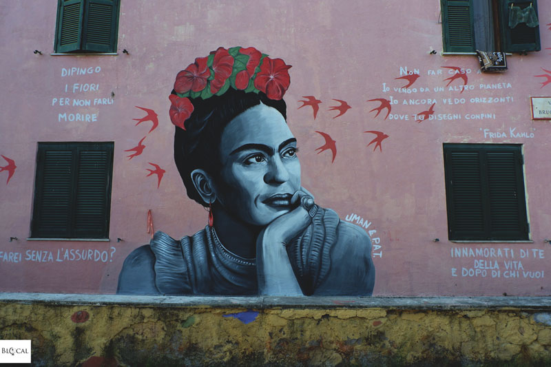 Uman street art Trullo women Frida