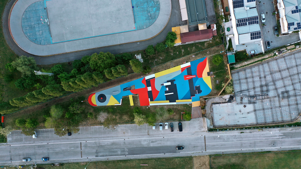 street art Giulio Vesprini skatepark