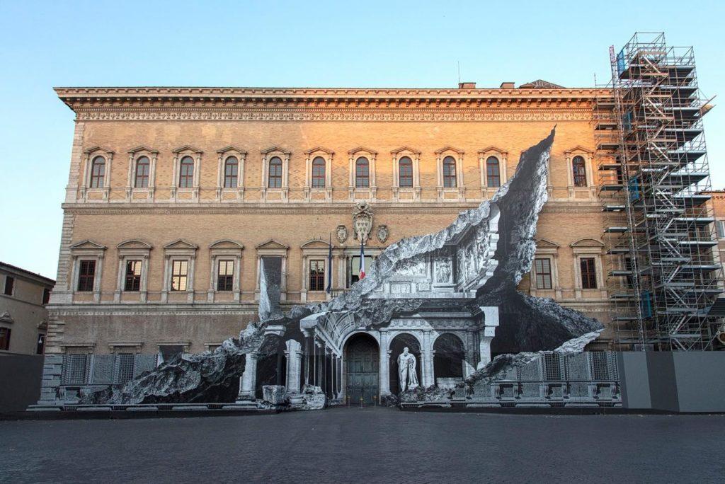 JR Palazzo Farnese Roma