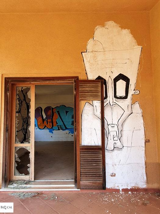 Pizzo Sella Art Village Palermo Street art Italy Urbex