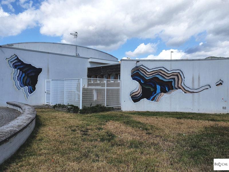 1010 street art in Fondi