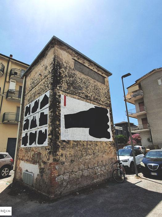 108 street art in Fondi