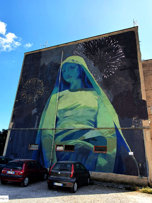 Andrew Hem street art in Fondi