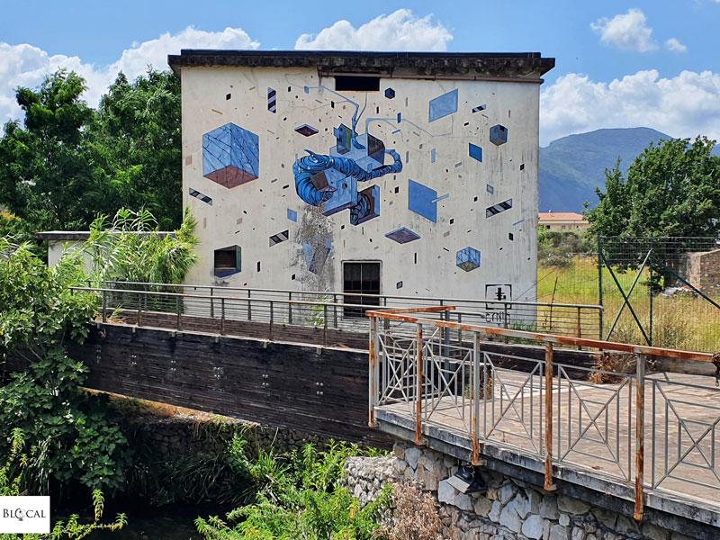 Etnik street art in Fondi