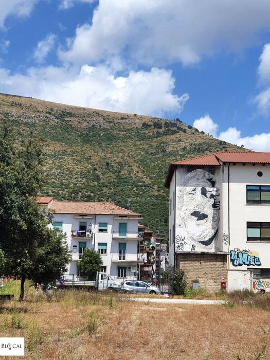 INO street art in Fondi