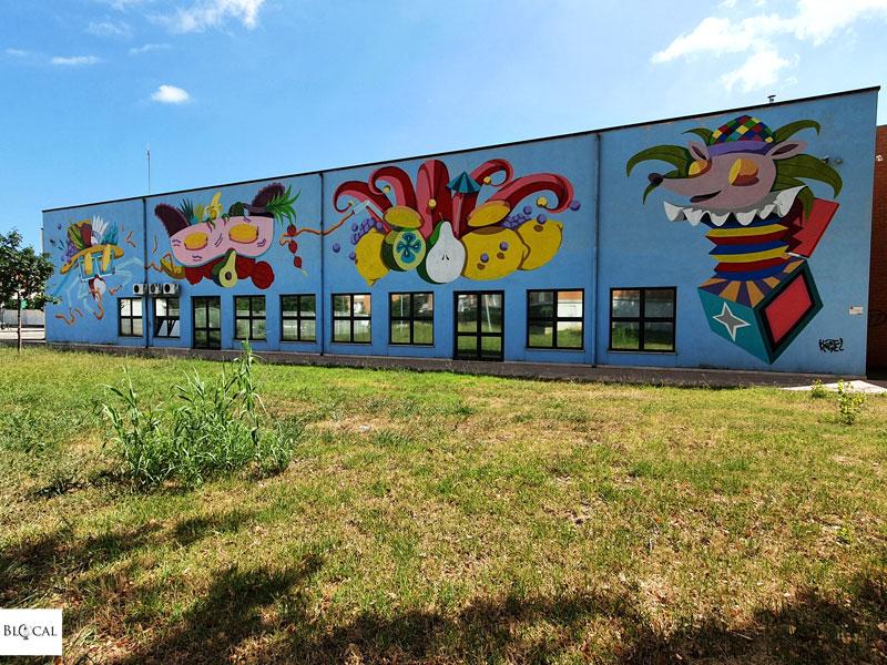 Koctel street art in Fondi