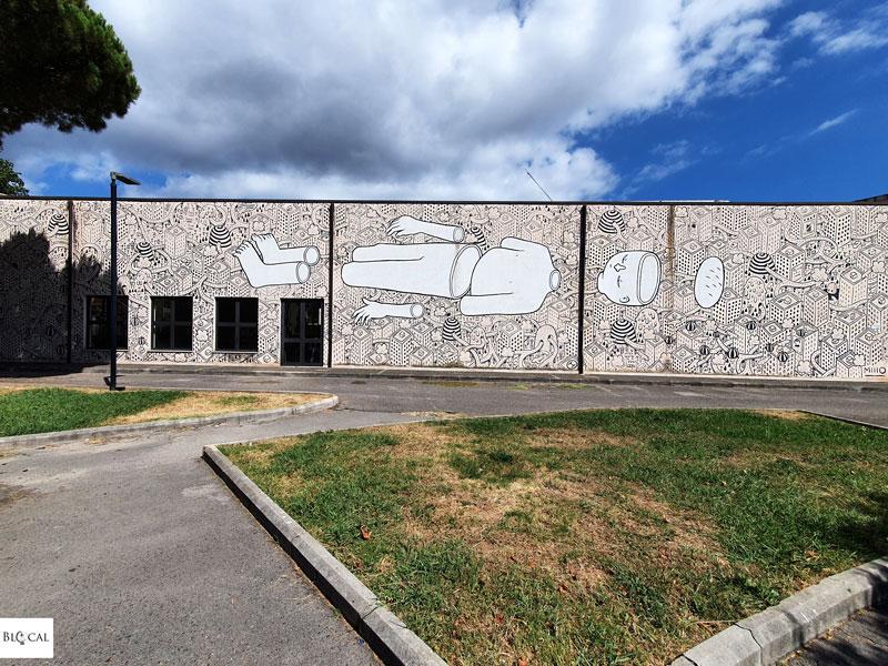 Millo street art in Fondi