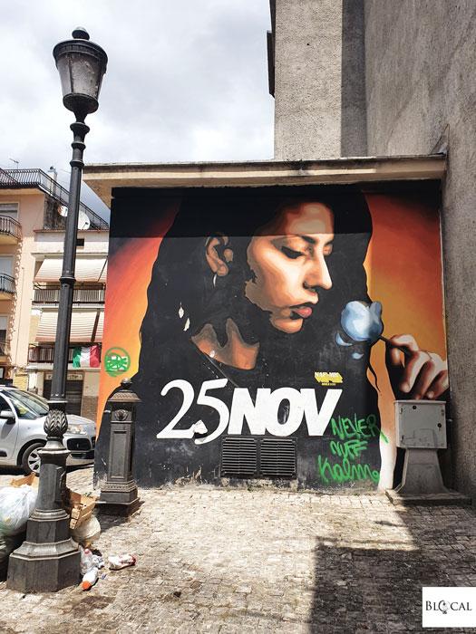 Naf / Mk street art in Fondi