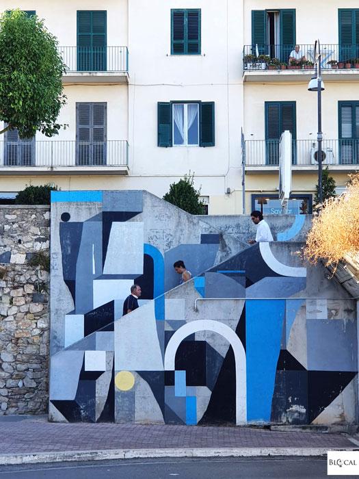 Nelio street art in Formia