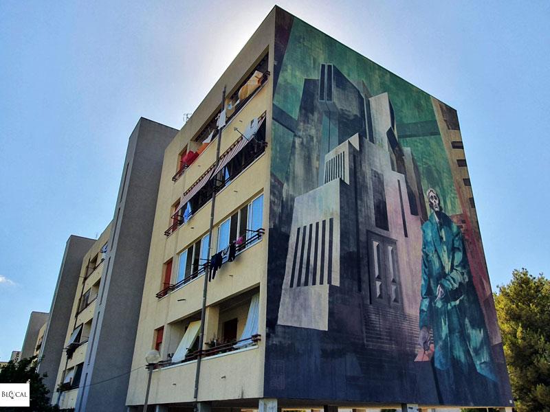 Sepe Chazme street art in Fondi