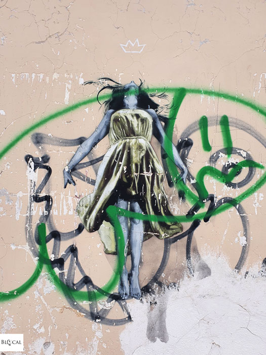 Snik street art in Fondi