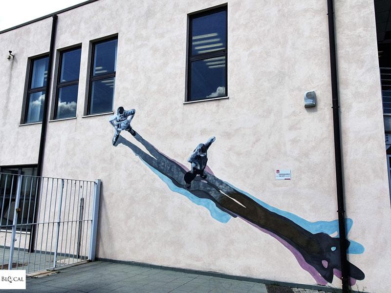 Strok Bosoletti street art in Fondi