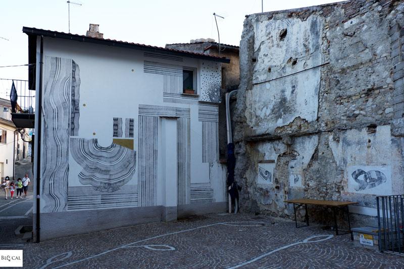 2501 Borgo Universo mural Aielli