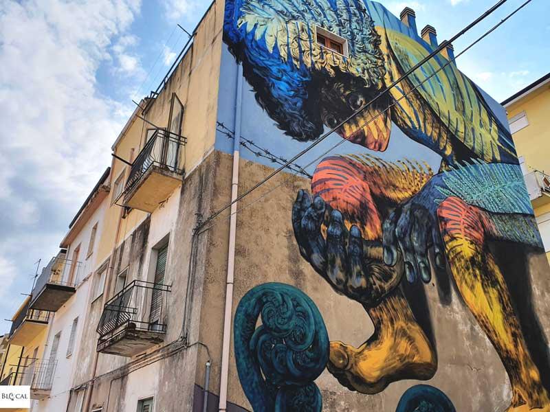 Bastardilla Appartengo festival street art Stigliano Basilicata Italy