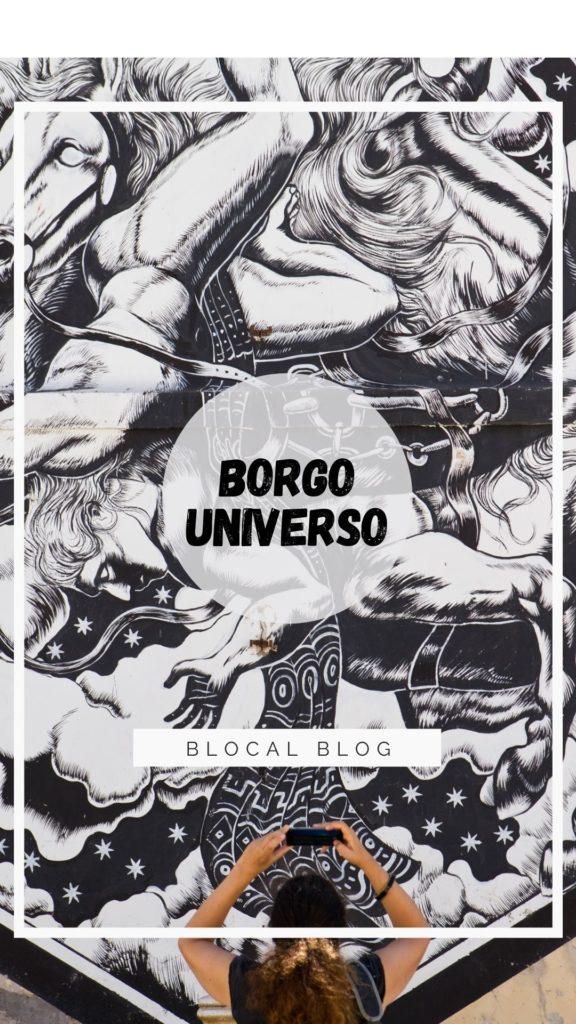 Borgo Universo street art Aielli Abruzzo Italy