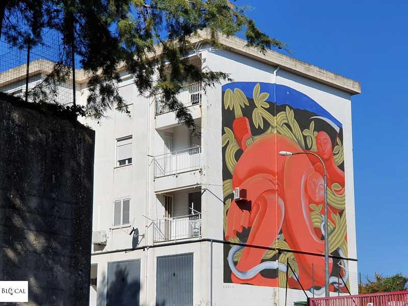 Barlo Appartengo festival street art Stigliano Basilicata Italy