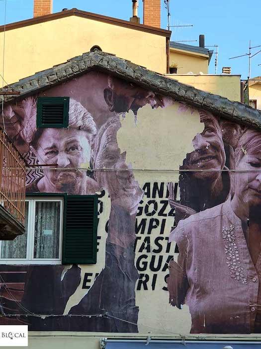 Bifido Appartengo festival street art Stigliano Basilicata Italy