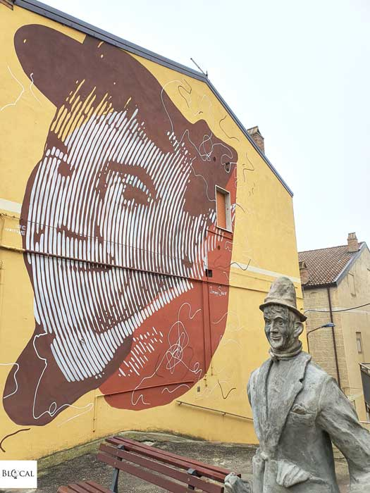 Chekos Mario Sansone Jimmy Savo Appartengo festival street art Stigliano Basilicata Italy