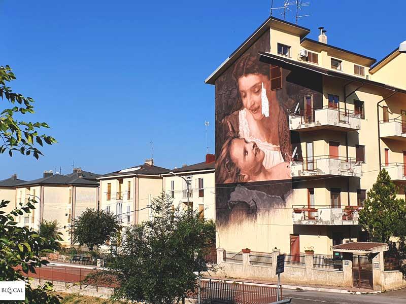 Luis Gomez de Teran Appartengo festival street art Stigliano Basilicata Italy