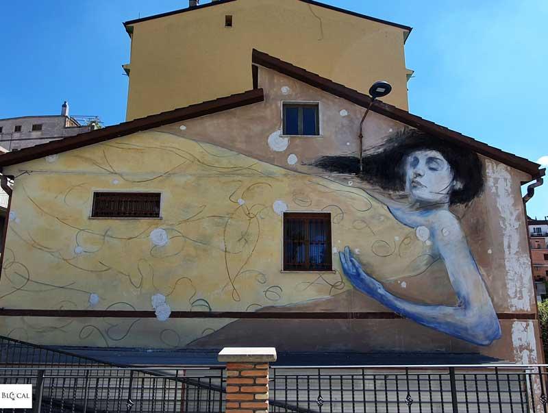 La Rouille Appartengo festival street art Stigliano Basilicata Italy