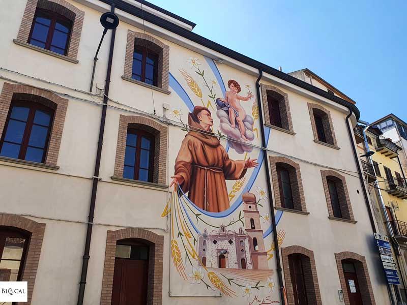 Mino di Summa Appartengo festival street art Stigliano Basilicata Italy
