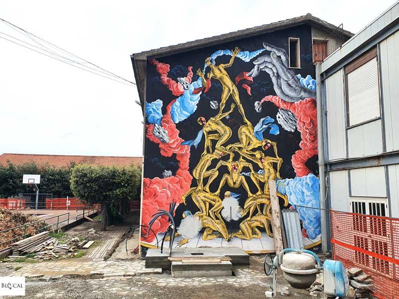 Gods in Love Appartengo festival street art Stigliano Basilicata Italy
