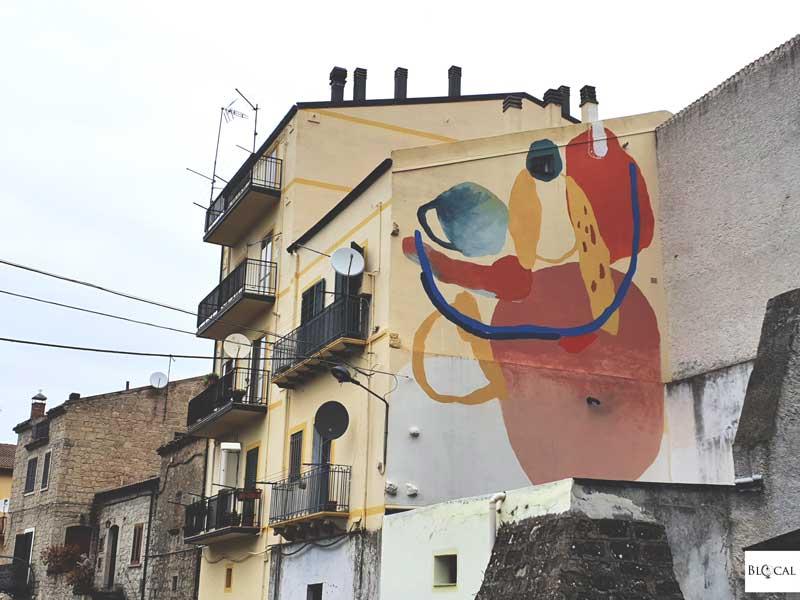 Nulo Appartengo Festival street art Stigliano Basilicata Italy