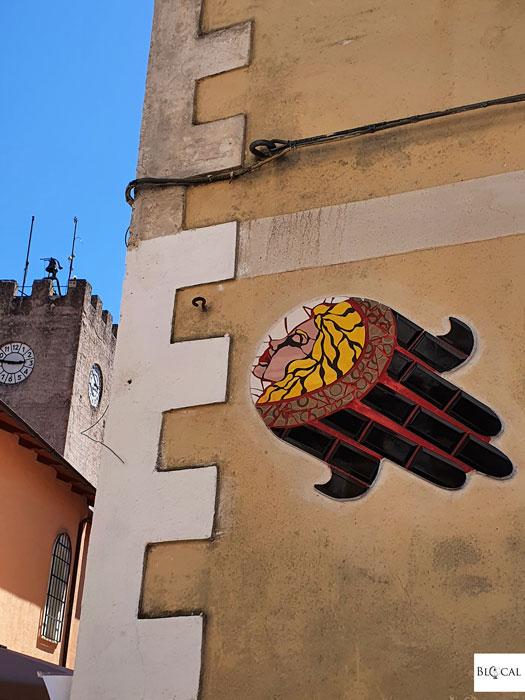 Orode ceramics street art Borgo Universo